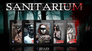 Sanitarium Magazine: Horror Fiction, Dark verse and Macabre Entertainment screenshot 2