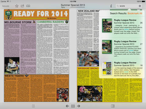 Rugby League Review screenshot 9