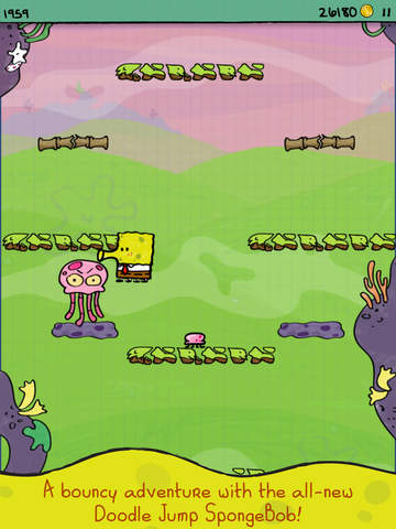 Doodle Jump SpongeBob SquarePants screenshot 4