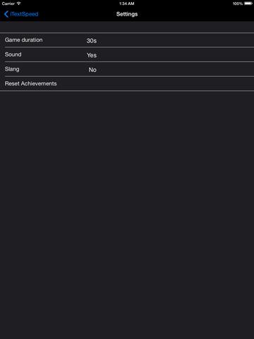 iTextSpeed screenshot 6