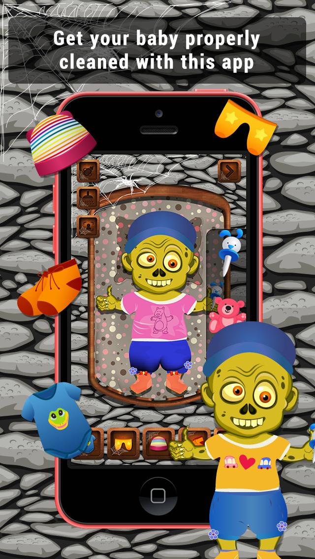 Baby Zombie Care Lite screenshot 1