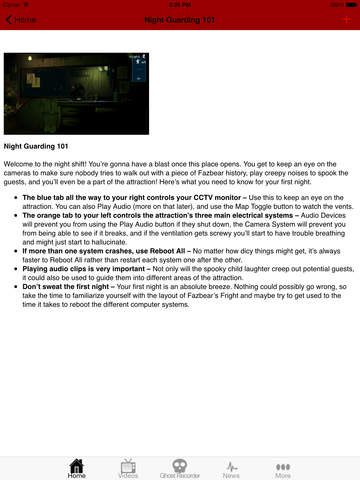Guide and Tips for Five Nights at Freddy's screenshot 7