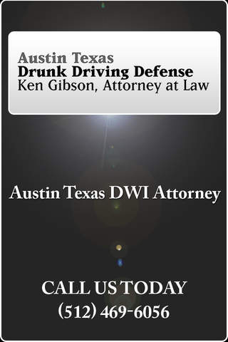 DWI App Law Office of Ken Gibson - náhled