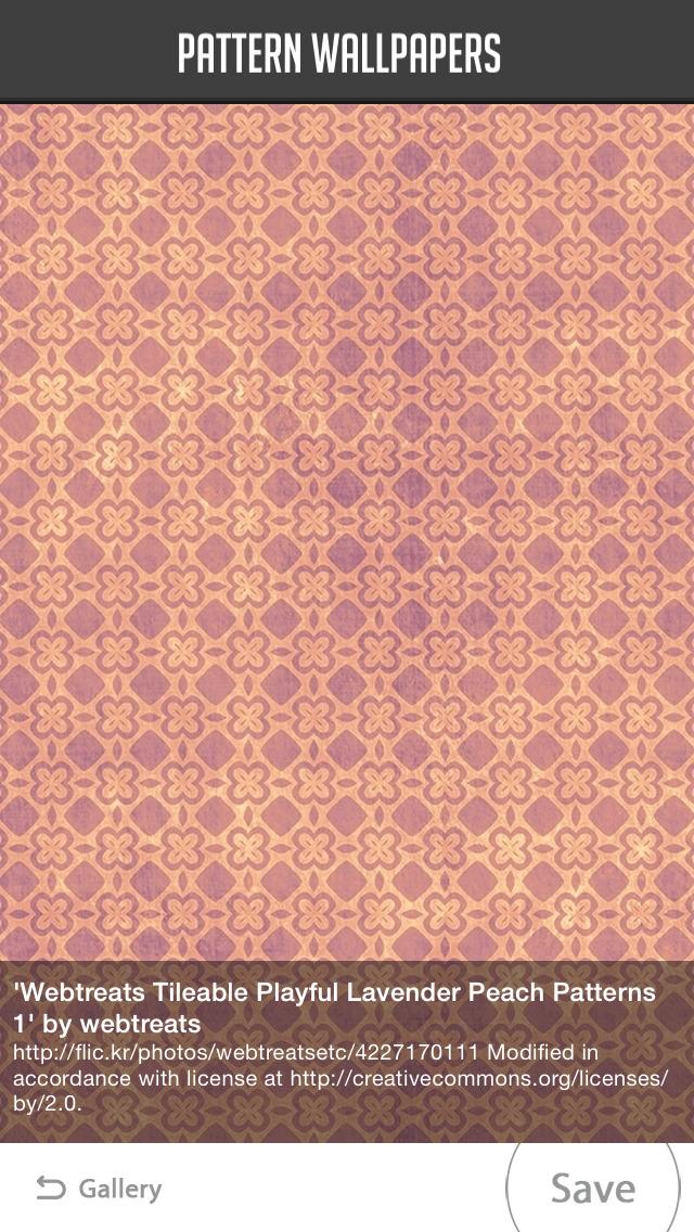 Pattern Wallpapers screenshot 2