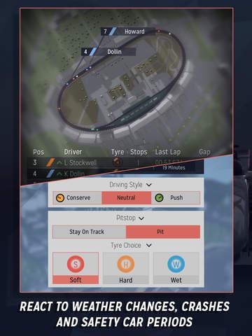 Motorsport Manager Mobile screenshot #4