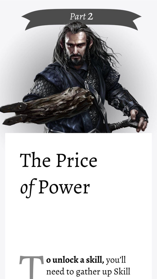 The Hobbit Kingdoms of Middle-earth Magazine screenshot 4