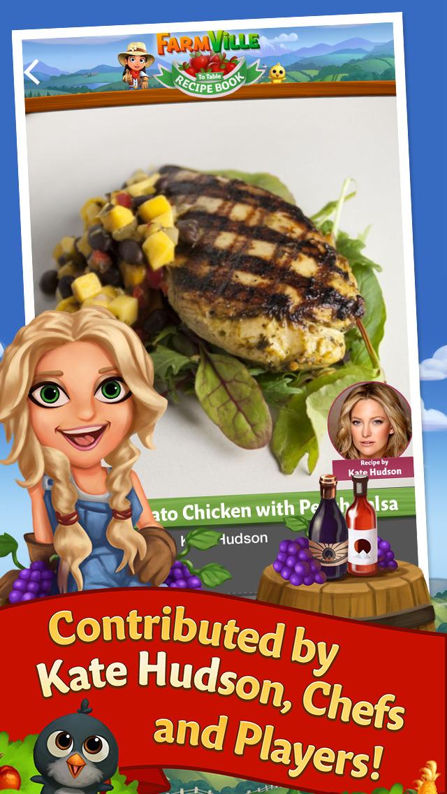FarmVille to Table Recipe Book screenshot #1