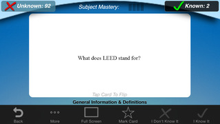 LEED® BD&C Flashcards: Building Design & Construction screenshot 3