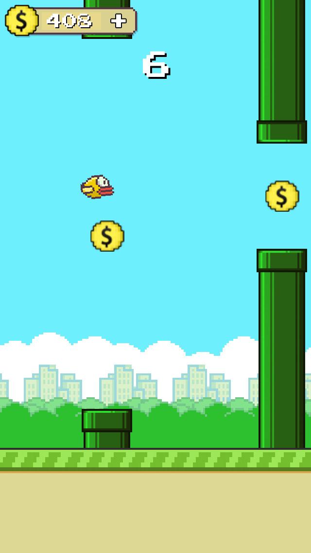 Flappy Anti Hero Go: gravity flip screenshot 3