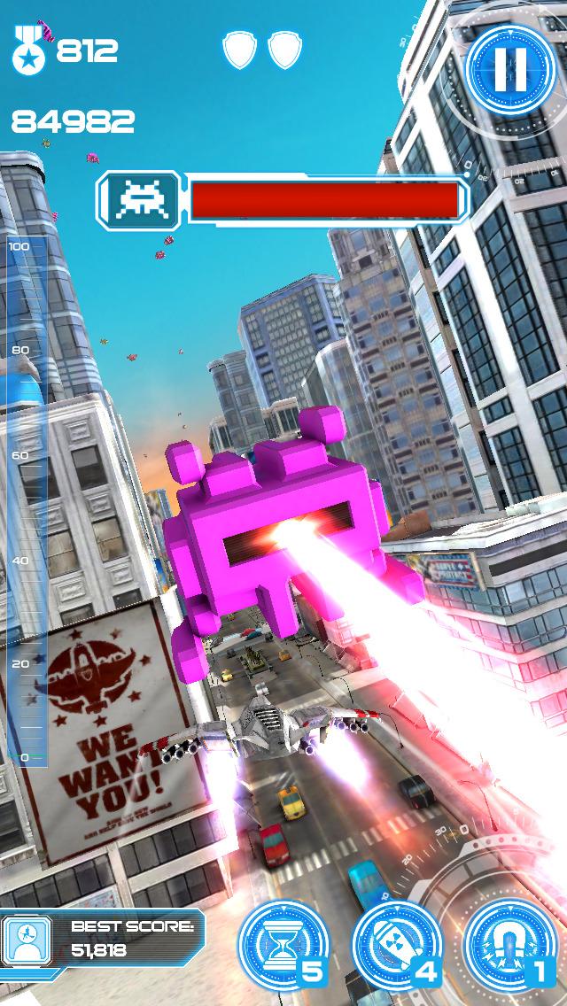 Jet Run: City Defender screenshot #5