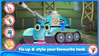 Tank Day Care Kids Game screenshot 4