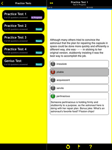 SAT Vocab Practice For Dummies screenshot 7