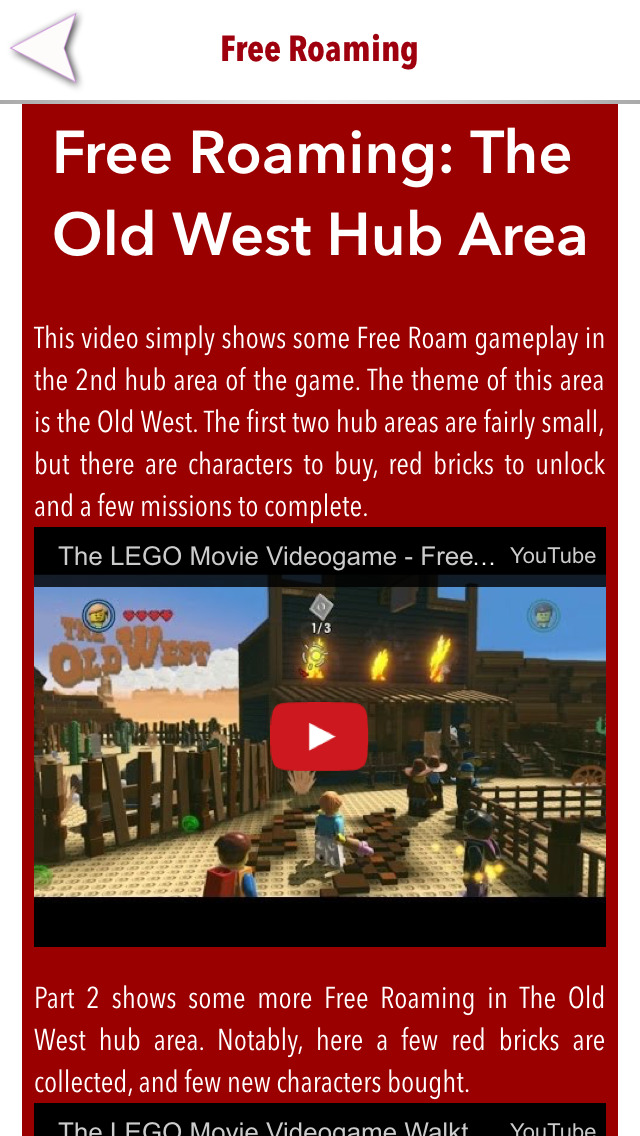 Guide for The Lego Movie - Walkthrough,levels & Trophies screenshot #3
