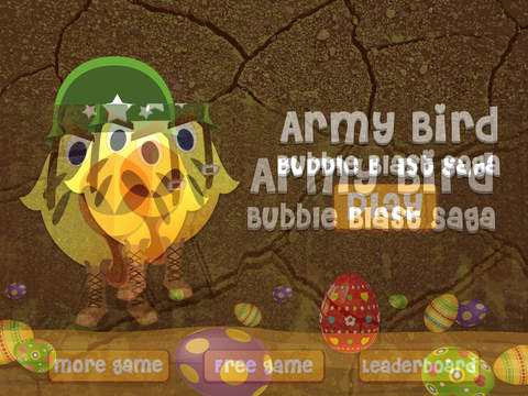 Army Bird Bubble Blast Saga Pro - new brain twister matching game screenshot 5