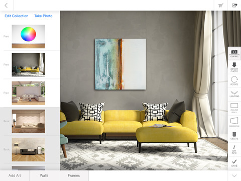 iArtView: Art to Scale Gallery screenshot #1