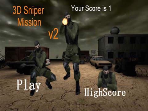 3D Sniper Misson screenshot 5