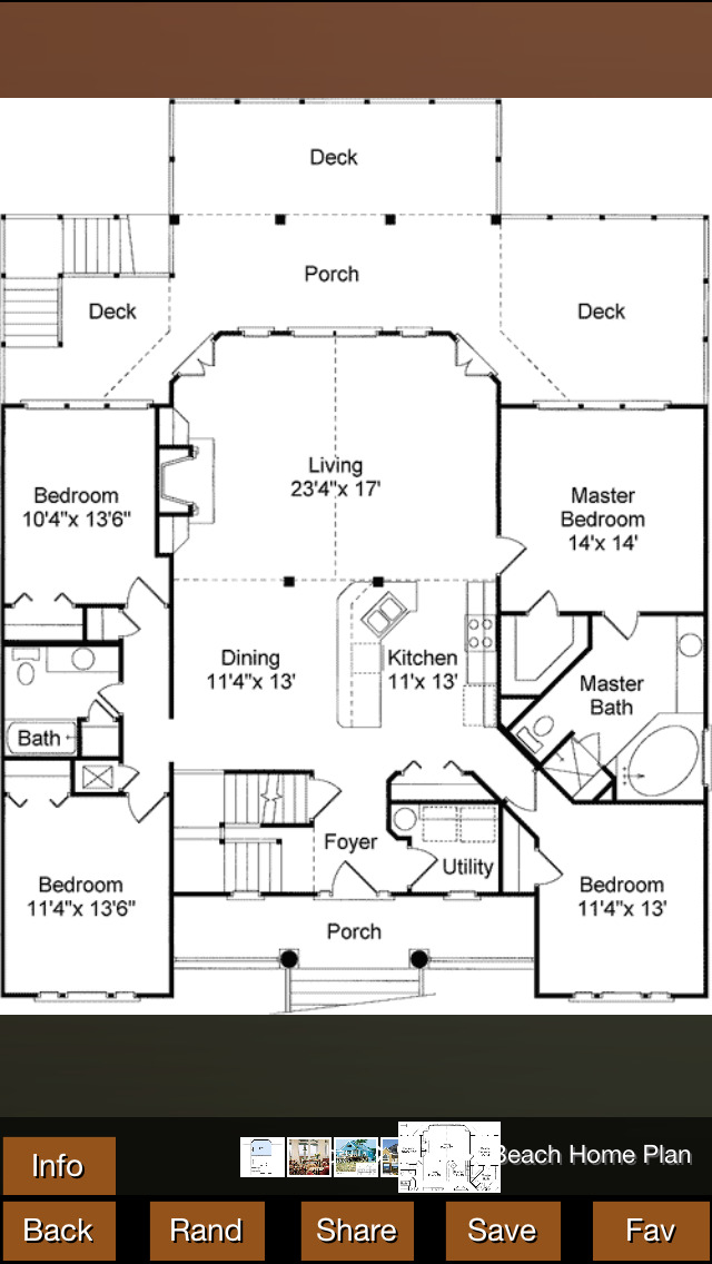 Vacation House Plans screenshot 1