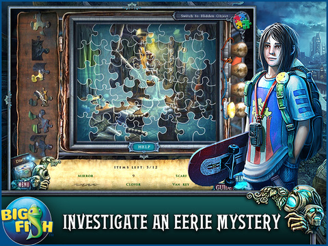 Fear For Sale: Nightmare Cinema HD - A Mystery Hidden Object Game screenshot 2