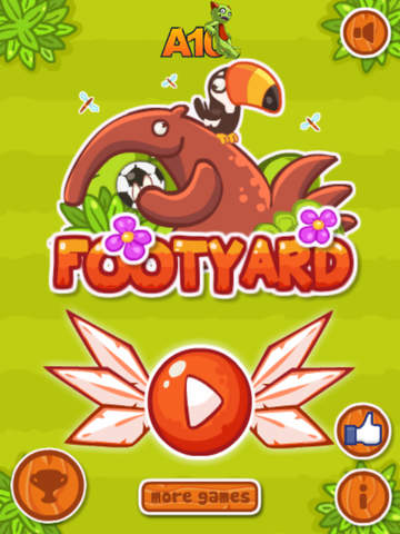 Foot Yard - Animal Retry Football Game screenshot 6