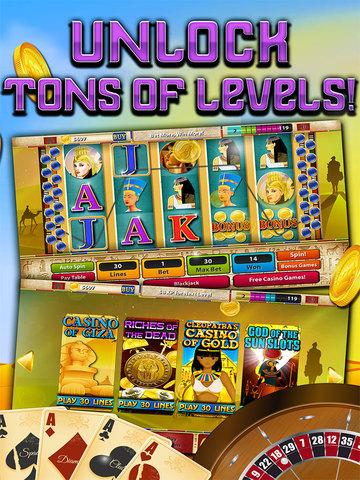 Slots - Pyramid's Way (Magic Journey of Gold Casino Dash) - FREE screenshot 8