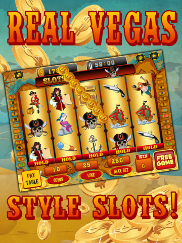 Ace Pirates Slots Casino - Lucky 777 Jackpot Journey Slot Machine Games Free screenshot 8