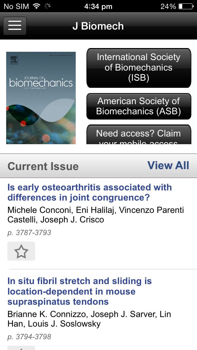 Journal of Biomechanics screenshot 3