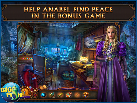 Haunted Hotel: Ancient Bane HD - A Ghostly Hidden Object Game screenshot 4