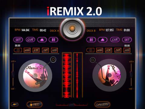 iRemix 2.0 Pro - Portable DJ Music Mixer Remix Tool screenshot 6