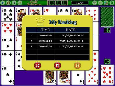 Golf Solitaire FVN screenshot 9