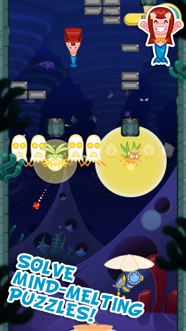 Blowfish Meets Meteor: A Brick-Breaker Adventure screenshot 3