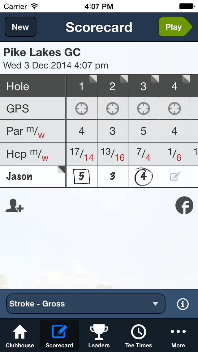 The Grand Club Pine Lakes GC screenshot 2
