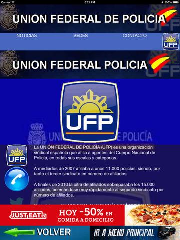 UFP - Union Federal de Policía a nivel nacional screenshot 5
