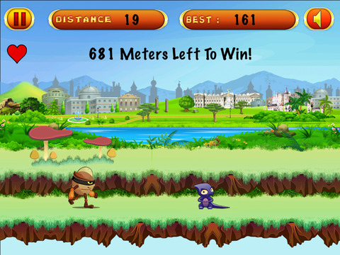 Little Hero Castle Run screenshot 2