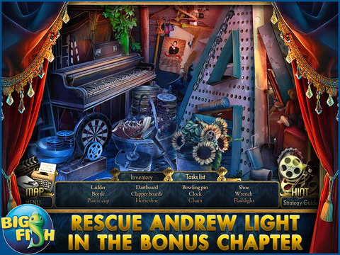 Surface: Reel Life HD - A Supernatural Hidden Object Mystery screenshot 4