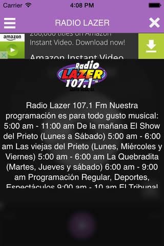 Radio Lazer 107.1 - náhled