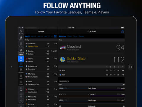 theScore: Sports News & Scores screenshot 7