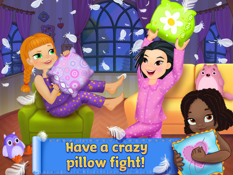 PJ Party Girl Sleepover screenshot 6