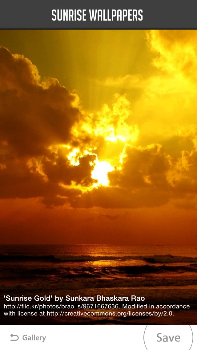 Sunrise Wallpaper screenshot 2