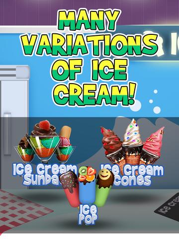 Awesome Ice Cream Parlor Maker - Frozen Jelly Dessert screenshot 9