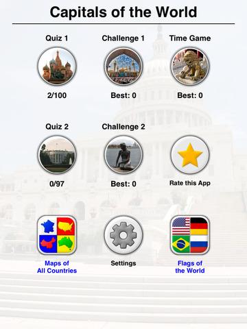 Capitals of the World - Quiz screenshot 8