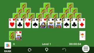 ▻TriPeaks Solitaire screenshot 1