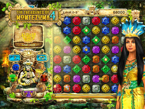 The Treasures of Montezuma 4 HD Free screenshot 1