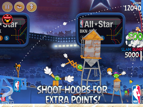 Angry Birds Seasons HD screenshot 3