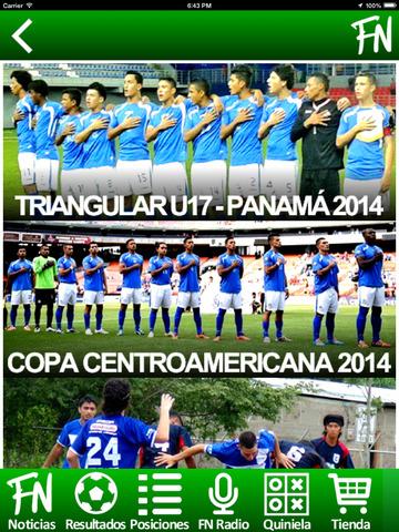 FutbolNica - fútbol Nicaragüense screenshot 8