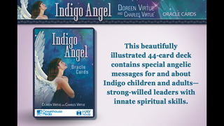Indigo Angel Oracle Cards - Doreen Virtue, Ph.D. and Charles Virtue screenshot 1