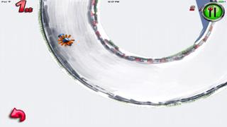 A Ride Sledge : Escape Chase Future Sprint Battle Version HD screenshot 2