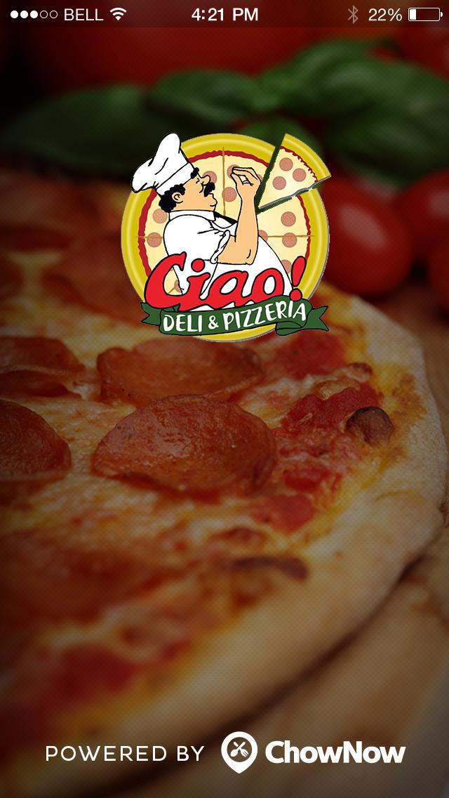 Ciao! Deli & Pizzeria screenshot 1