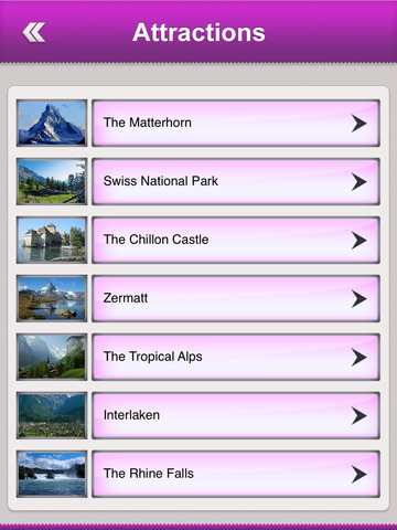 Switzerland Tourism Guide screenshot 8