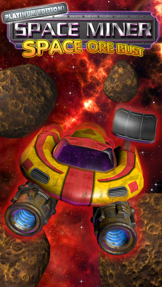 Space Miner: Space Ore Bust for iPad screenshot 5
