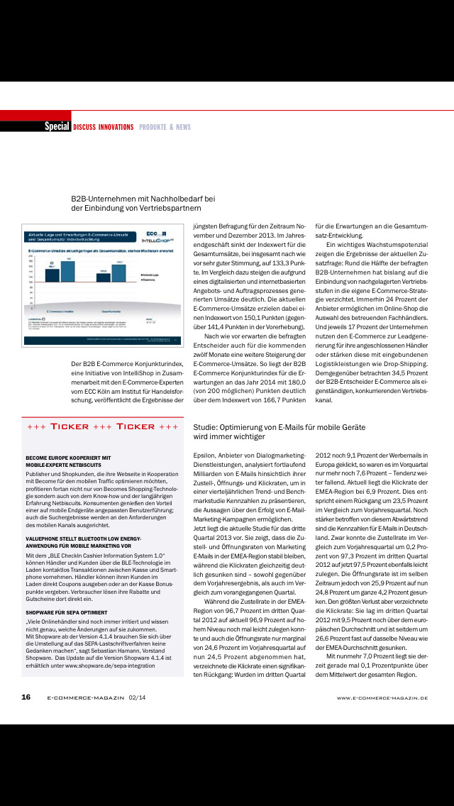 ecommerce Magazin screenshot 4
